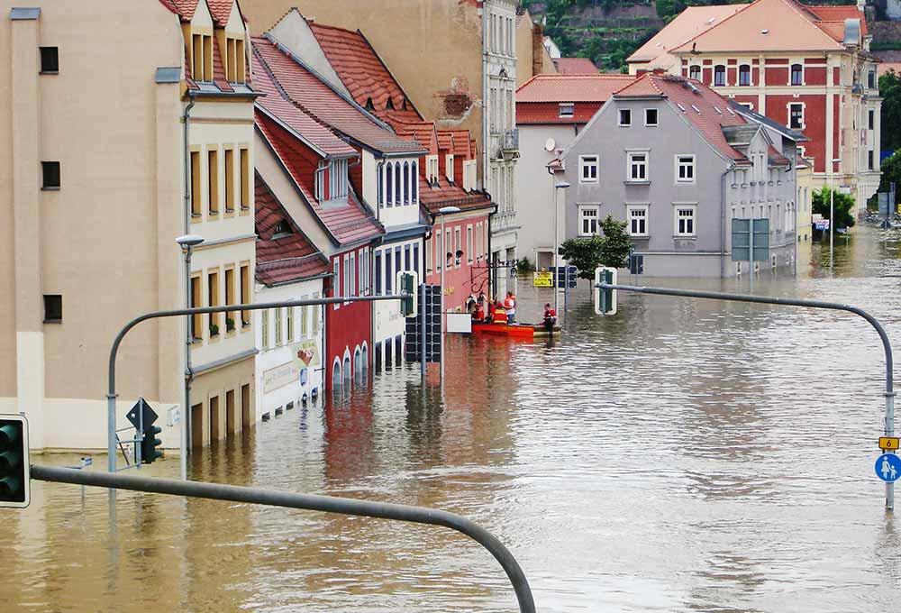 Elementarversicherung für Hochwasser-Schäden